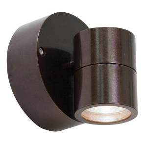 KO - 1 Light Marine Grade Wet Location Spotlight-4.25 Inches Tall and 4.2 Inches Wide