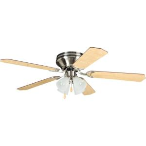 Brilliante - Ceiling Fan with Light Kit in Traditional Style - 52 inches wide by 12.99 inches high