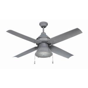 Port Arbor - Ceiling Fan with Light Kit in Outdoor Style - 52 inches wide by 19.22 inches high