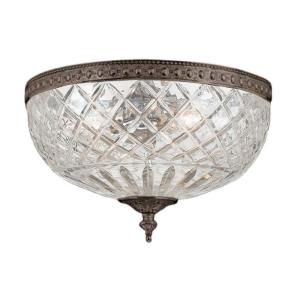 Cortland Flush Mount in traditional and contemporary Style - 8 Inches Wide by 8 Inches High