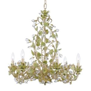 Josie - Six Light Chandelier in classic, elegant, and casual Style - 25 Inches Wide by 25.5 Inches High