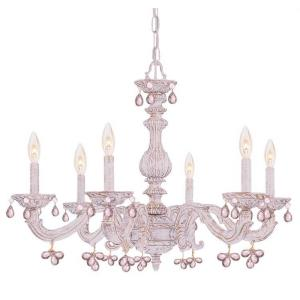 Sutton - Six Light Chandelier in traditional and contemporary Style - 28 Inches Wide by 21 Inches High