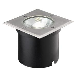 7W 1 LED Square In-Ground Light - 5 Inches Wide by 4.13 Inches High