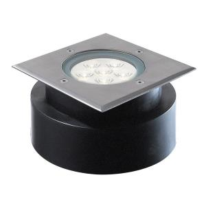 5.88 Inch 6W 6 LED Square ShallowIn-Ground Light