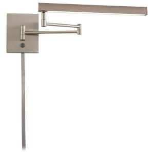 13W 1 LED Swing Arm Wall Sconce