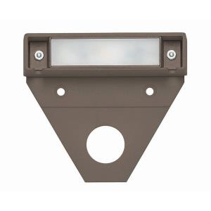 Nuvi - 1.1W LED Small Deck Light - 3.25 Inches Wide by 0.75 Inches High