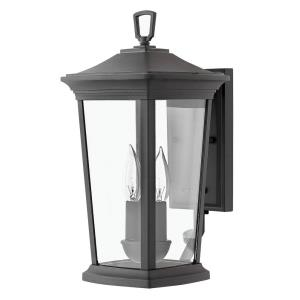 Bromley - 2 Light Small Outdoor Wall Lantern in Traditional Style - 8 Inches Wide by 15.5 Inches High