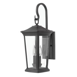 Bromley - 2 Light Medium Outdoor Wall Lantern in Traditional Style - 8 Inches Wide by 20 Inches High