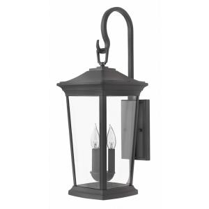Bromley - 3 Light Extra Large Outdoor Wall Lantern in Traditional Style - 10 Inches Wide by 24.75 Inches High