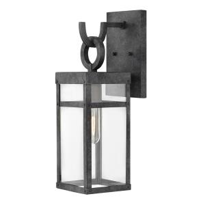 Porter - 1 Light Small Outdoor Wall Lantern in Transitional Style - 6 Inches Wide by 18.5 Inches High