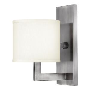 Hampton - 1 Light Wall Sconce in Transitional Style - 6.75 Inches Wide by 12 Inches High