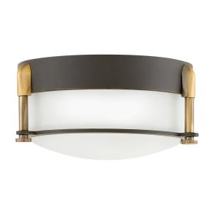 Colbin - 16W LED Small Flush Mount in Transitional Style - 7 Inches Wide by 3.25 Inches High