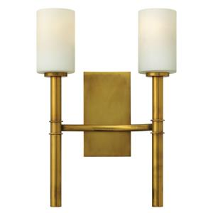 Margeaux - 2 Light Wall Sconce in Transitional, Mid-Century Modern Style - 12.75 Inches Wide by 18 Inches High