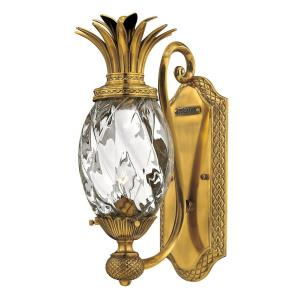 Plantation - 1 Light Wall Sconce in Traditional, Glam Style - 6 Inches Wide by 14.5 Inches High