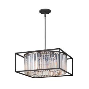 Giada - Eight Light Medium Chandelier in Modern, Glam Style - 24 Inches Wide by 13 Inches High