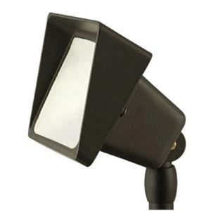 Low Voltage One Light Outdoor Accent Lamp - 5.5 Inches Wide by 4 Inches High