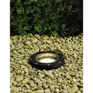 - Line Voltage 1 light Small In-Ground Well Lamp - with inspirations - 8.25 inches tall by 7 inches wide