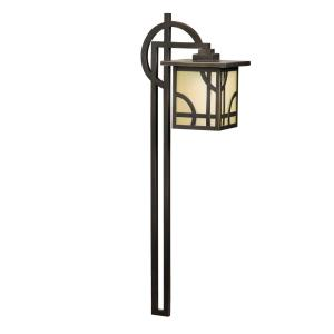 Larkin Estate - Low Voltage Post Light - with Contemporary inspirations - 27 inches tall by 6 inches wide