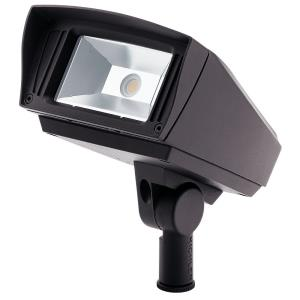 C-Series - 12W 1 LED Optional-Mount Outdoor Small Flood Light 6 inches tall by 6 inches wide