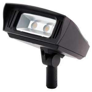 C-Series - 52W 1 LED Multi-Mount Outdoor Medium Flood Light 6 inches tall by 6 inches wide