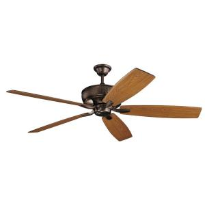 Monarch - Ceiling Fan - with Transitional inspirations - 18 inches tall by 69.5 inches wide