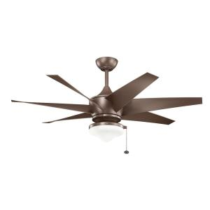 Lehr II - Ceiling Fan - with Contemporary inspirations - 20.25 inches tall by 54 inches wide