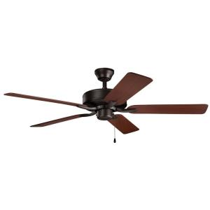 Basics Pro Patio - Ceiling Fan - with Traditional inspirations - 12.5 inches tall by 52 inches wide