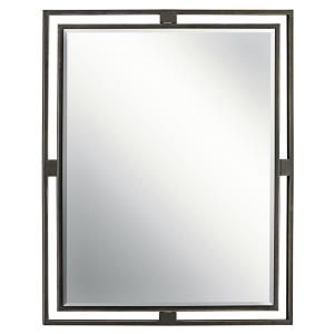 Hendrik - Mirror - with Soft Contemporary inspirations - 30 inches tall by 24 inches wide