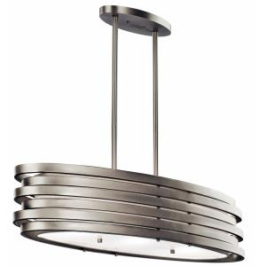 Roswell - 3 Light Oval Chandelier - 12.25 inches wide