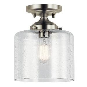 Winslow - 1 light Semi-Flush Mount - 10.5 inches tall by 8.5 inches wide
