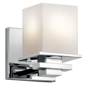 Tully - Transitional 1 Light Wall Sconce - with Soft Contemporary inspirations - 6.5 inches tall by 5 inches wide