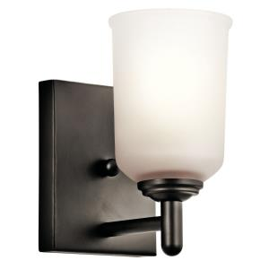 Shailene - 1 Light Wall Sconce - with Transitional inspirations - 8.25 inches tall by 5 inches wide