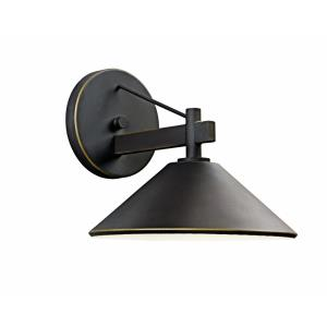 Ripley - 1 light Outdoor Wall Bracket - 8 inches wide