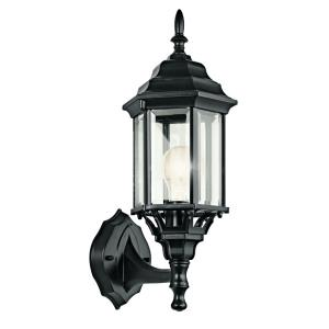 Chesapeake - 1 light Outdoor Wall Mount - with Traditional inspirations - 17 inches tall by 6.5 inches wide