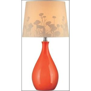 One Light Table Lamp-12 Inches Wide by 22 Inches High