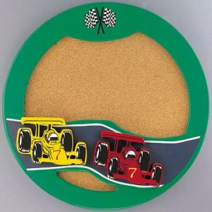 Indy Car Round Cork Board-2 Inches Wide by 20 Inches High