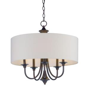 Bongo-Five Light Pendant-22 Inches wide by 20.75 inches high