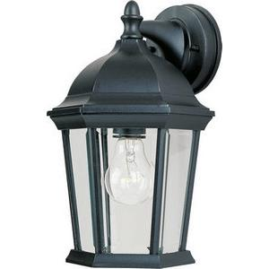 Builder Cast-One Light Outdoor Wall Mount in Early American style-8 Inches wide by 12 inches high