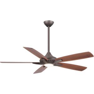Dyno - Ceiling Fan with Light Kit in Transitional Style - 12 inches tall by 52 inches wide