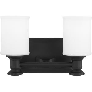 Harbour Point - 2 Light Transitional Bath Vanity in Transitional Style - 7.25 inches tall by 11.25 inches wide