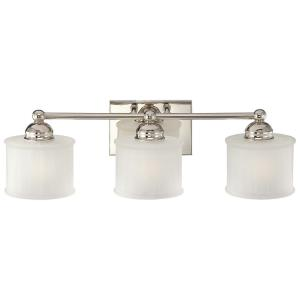 1730 Series - 3 Light Transitional Bath Vanity in Transitional Style - 7.5 inches tall by 23.75 inches wide