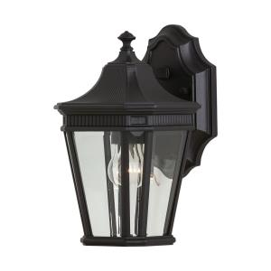 Cotswold Lane - Outdoor Wall Lantern Traditional Aluminum Approved for Wet Locations in Traditional Style - 6.5 Inches Wide by 11.5 Inches High