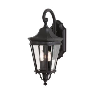 Cotswold Lane - Outdoor Wall Lantern Traditional Aluminum Approved for Wet Locations in Traditional Style - 9 Inches Wide by 20.5 Inches High