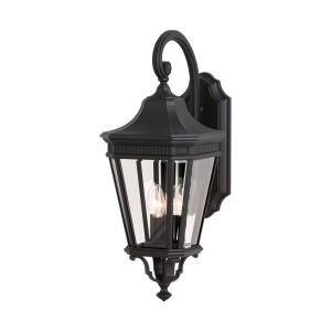 Cotswold Lane - Outdoor Wall Lantern Traditional Aluminum Approved for Wet Locations in Traditional Style - 9.5 Inches Wide by 23.75 Inches High