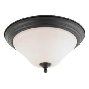 Dupont-One Light Flush Mount-11 Inches Wide by 7 Inches High