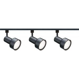 Three Light Step Cylinder Track Kit-1.5 Inches Wide by 6 Inches High