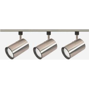 Three Light Straight Cylinder Track Kit-4.75 Inches Wide by 4.75 Inches High