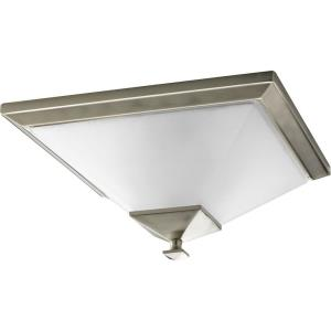 Clifton Heights - Close-to-Ceiling Light - 2 Light in Modern Craftsman and Farmhouse style - 15 Inches wide by 7.13 Inches high
