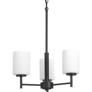 Replay - Chandeliers Light - 3 Light in Modern style - 17 Inches wide by 20.13 Inches high