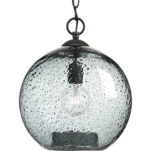 Malbec - Pendants Light - 1 Light - Globe Shade in Bohemian and Coastal style - 11.75 Inches wide by 14 Inches high